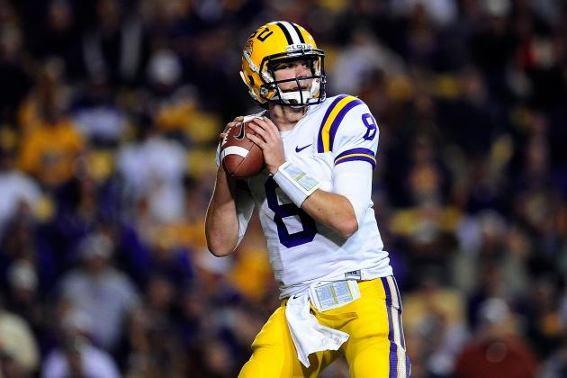LSU Quarterback Zach Mettenberger Talks About Win over Ole Miss