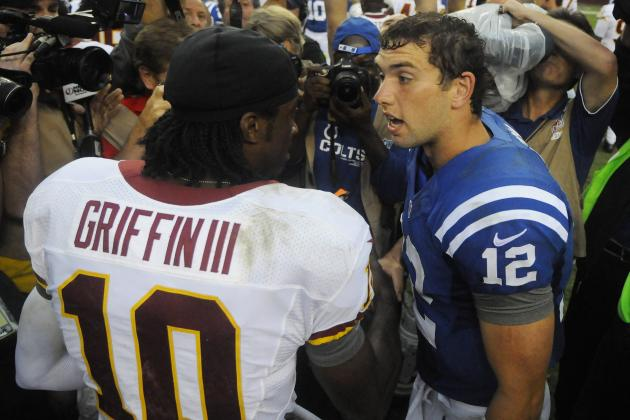 Robert Griffin III vs. Andrew Luck: Whose Immediate Future Is Brighter?