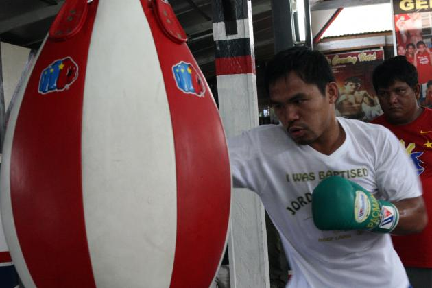 Manny Pacquiao: Pac-Man's Politics Will Distract Former Champ from Marquez 4