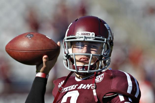 Johnny Manziel: Collin Klein Mishap Makes Texas A&M QB Heisman Front-Runner