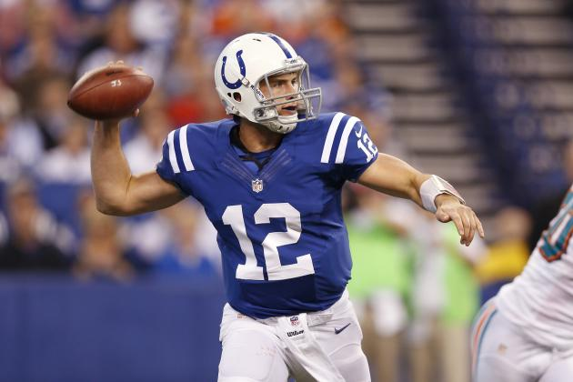 Buying or Selling Colts as Super Bowl Contender in Andrew Luck's Rookie Year