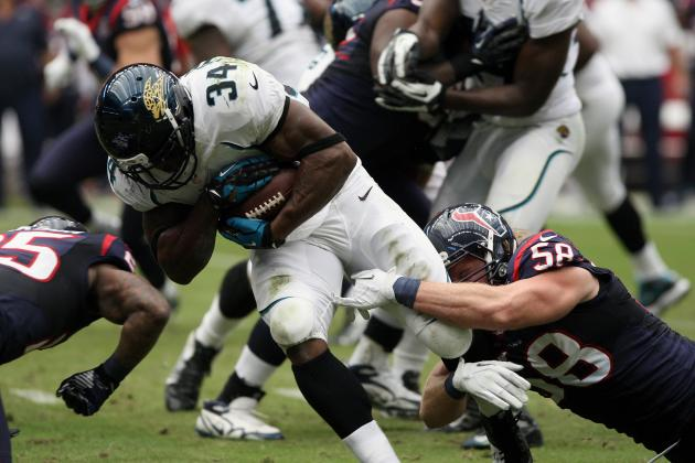 Jalen Parmele: Fantasy Outlook for Jaguars RB for Remainder of 2012