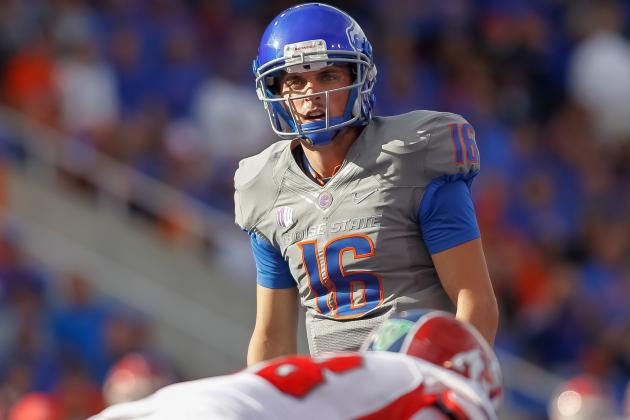 Boise State Football: Broncos Who Must Carry Offense to Next Level in 2013