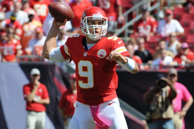 Brady Quinn Replaces Matt Cassel for Chiefs in 2nd Half vs. Bengals