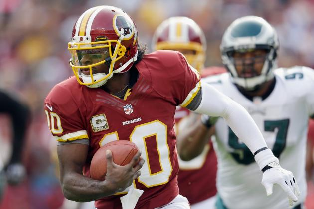 Redskins' RG3 Is Tough to Tackle