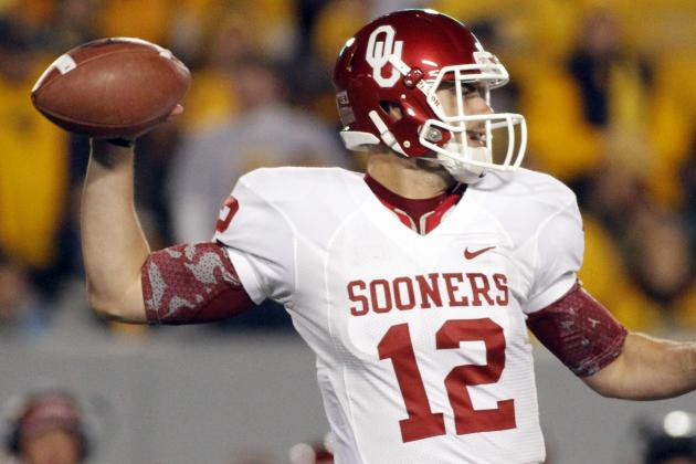 Oklahoma vs. West Virginia: Landry Jones Keeps Sooners' BCS Hopes Alive