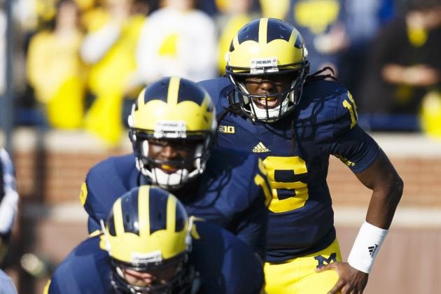 Michigan Football: Wolverines Won't Miss Toussaint with Denard Robinson at RB