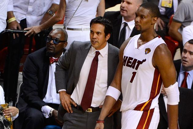 Spoelstra Calls Chris Bosh Heat's 'Most Important Player'