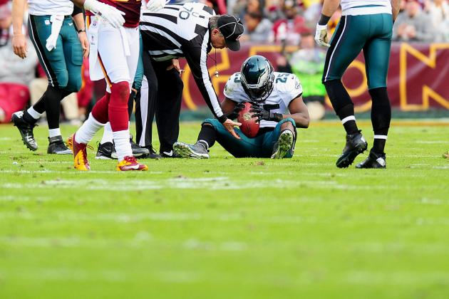 What Does LeSean McCoy's Injury Mean for Fantasy Owners, Eagles?