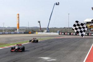 Lewis Hamilton Delighted to Beat Sebastian Vettel