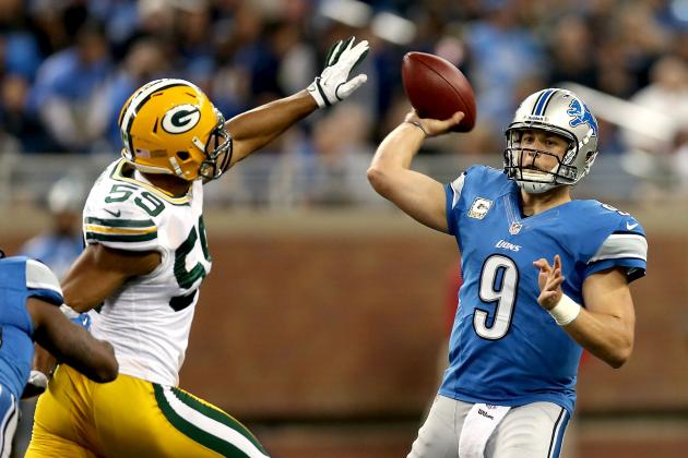 Packers vs. Lions: Slow Start Once Again Dooms Lions, Kills Playoff Chances