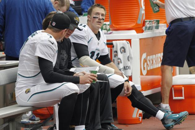 What Does Blaine Gabbert's Week 11 Injury Mean for Jaguars, Fantasy Owners?