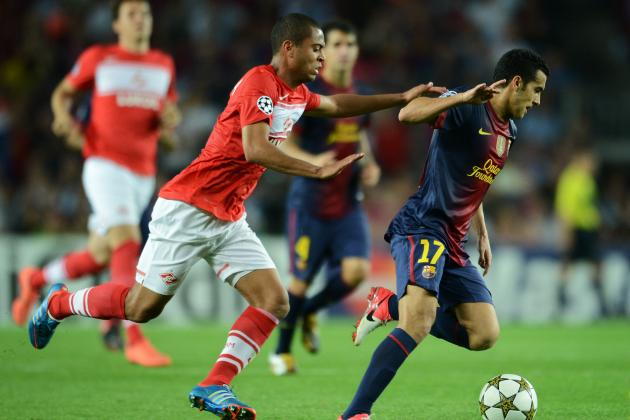 Spartak Moscow vs. Barcelona: UEFA Champions League Preview and Prediction