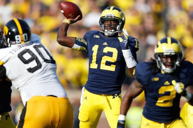 Michigan Football: QB Gardner Could Develop into Player Like K-State's Klein