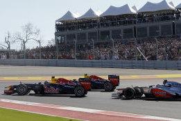 Backmarker Costs Sebastian Vettel Victory in Austin