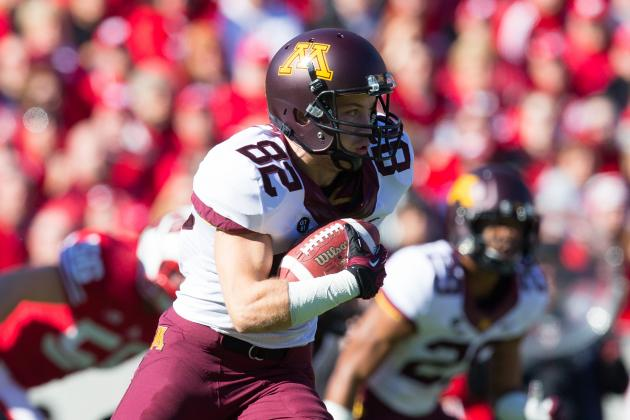 Minnesota WR A.J. Barker Quits Team with Lengthy Letter to Coach Jerry Kill