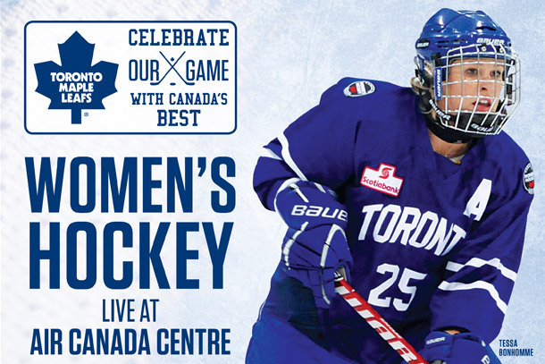 Toronto Furies Win First CWHL Game Played at Air Canada Centre