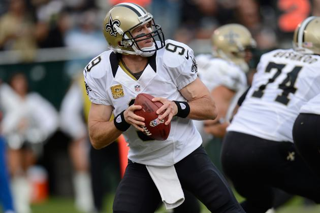 Saints Back at .500 Thanks to Rout of Raiders