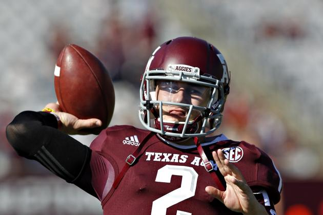 Heisman Trophy Watch 2012:  Is This Now Johnny Manziel's Award to Lose?