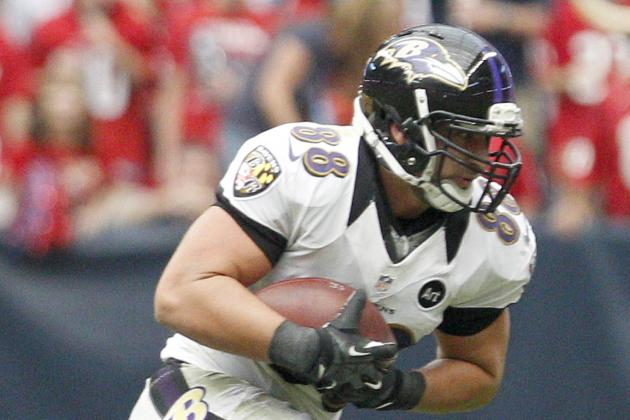 Dennis Pitta Suffers Concussion vs. Steelers
