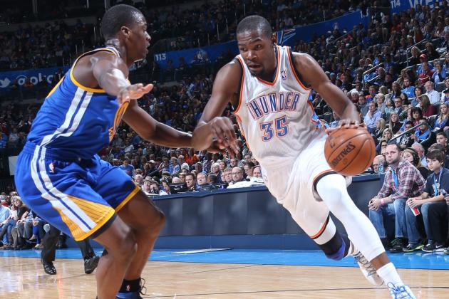 Durant Drops First Triple-Double