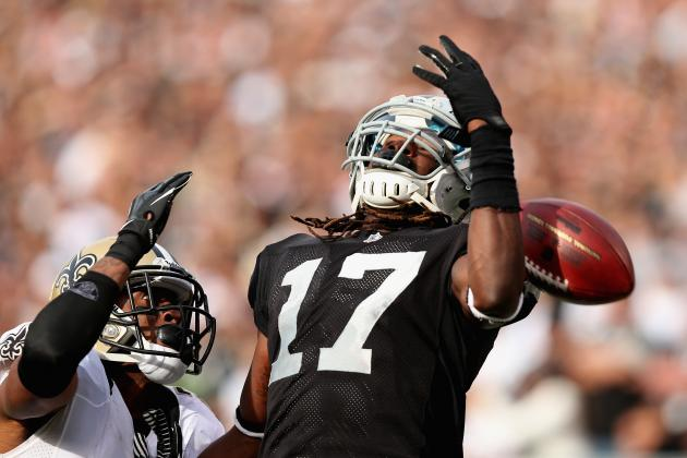Wideout Denarius Moore Has Trouble Against New Orleans Saints