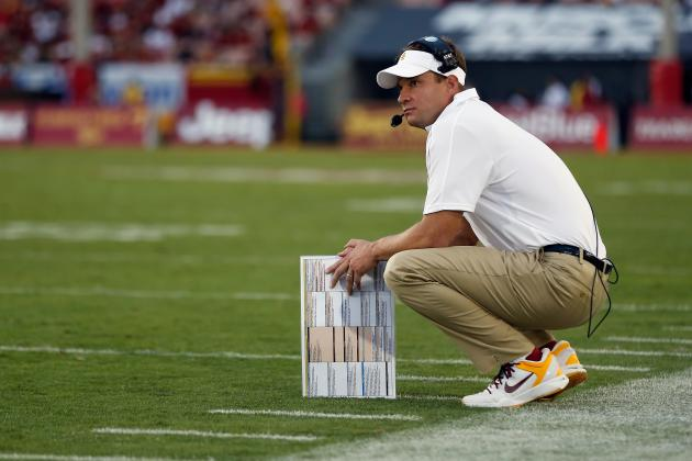 Notre Dame vs. USC: Lane Kiffin Can Redeem Himself with a Win