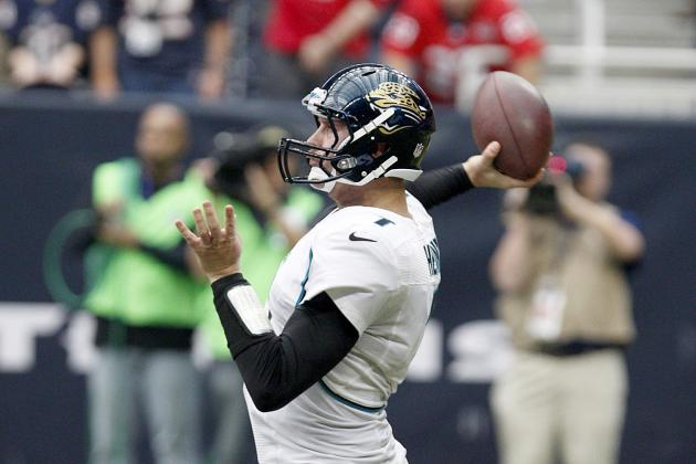 Chad Henne: The Silver Lining to the Jacksonville Jaguars' Woeful Season?