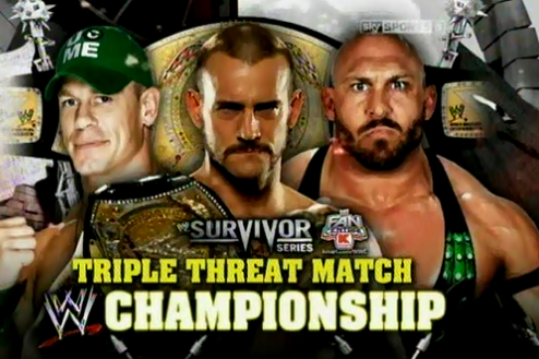 WWE Survivor Series: Reaction to CM Punk vs. John Cena vs. Ryback