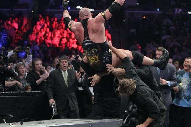 WWE Survivor Series Results: What's Next for Cena & Ryback After Loss to Punk?