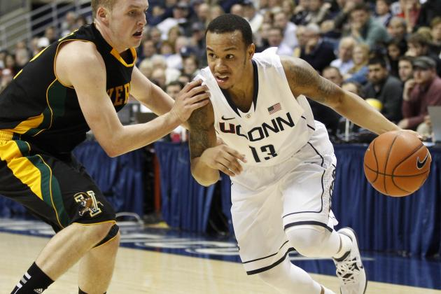 No. 23 UConn Shakes in-State Rival Quinnipiac in 2 OTs