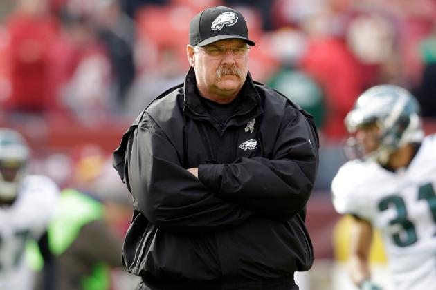 Updated Hot Seat Watch for Andy Reid After Eagles' Loss to Redskins
