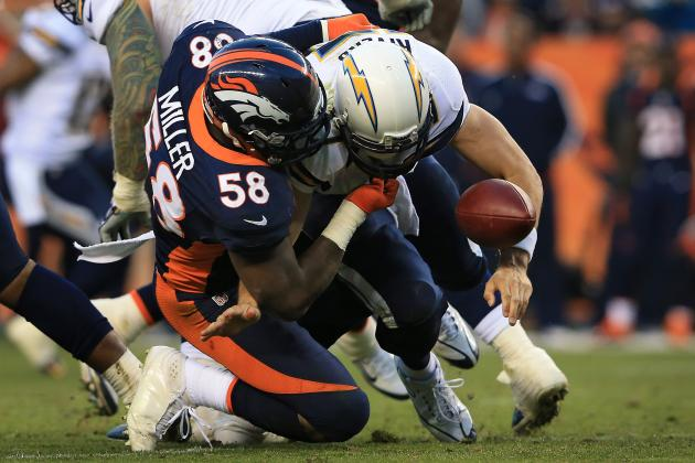 Chargers vs. Broncos: Denver Puts Brakes on AFC West Race, Sights on Playoffs