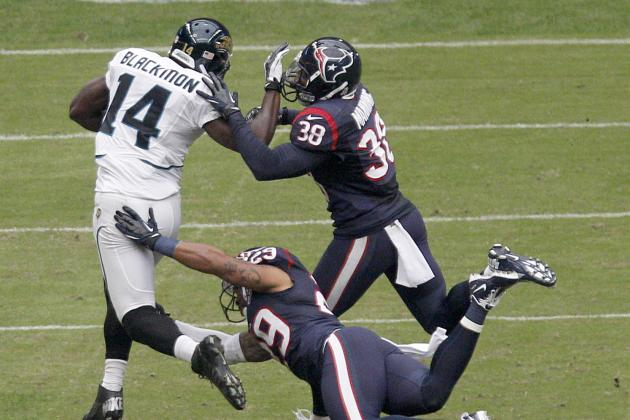 Jaguars' Justin Blackmon Breaks out and Other AFC South Must-Reads