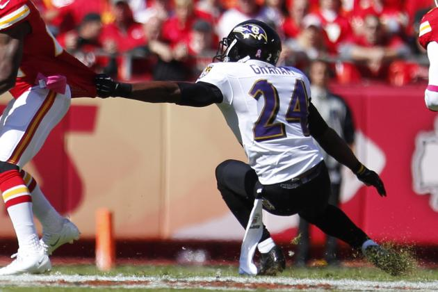 Big game for Ravens CB Corey Graham