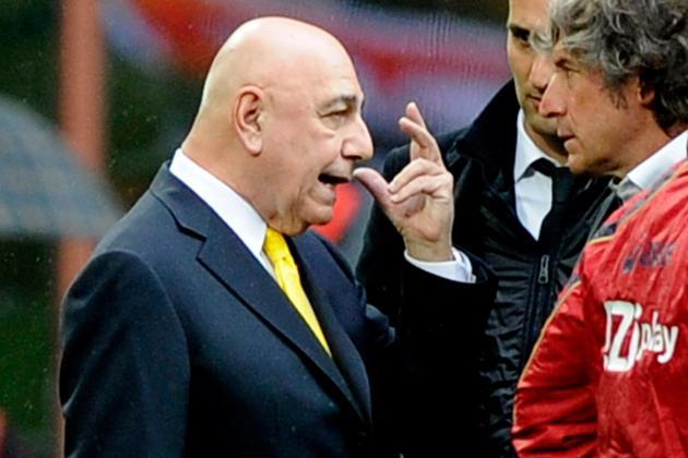 Galliani: Inter Favoured in Derby