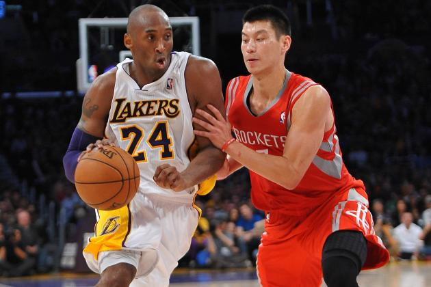 Kobe Bryant Wins NBA Player of the Night After Burning Rockets for Triple-Double