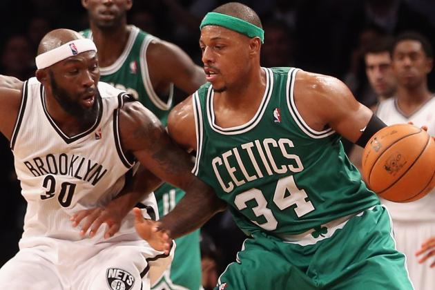 Pierce Thinks Ankle Will Be 'All Right' with Rest