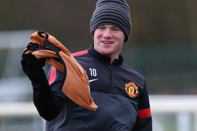 Rooney & De Gea Back for Man Utd
