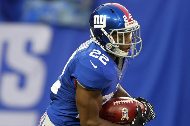 Speed Is Not Enough for David Wilson to Crack into Big Blue's Backfield