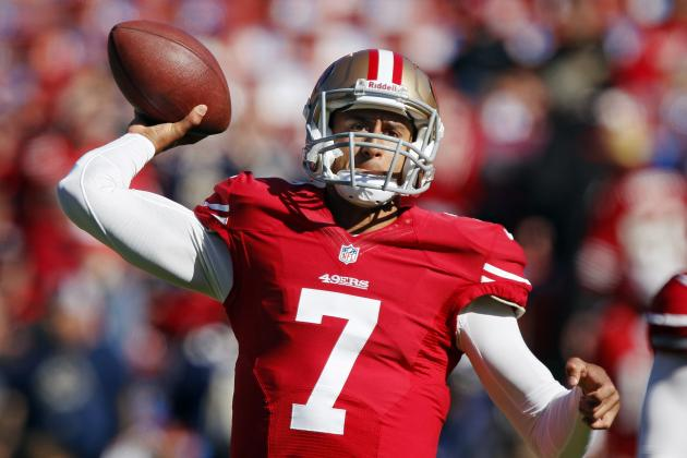 Colin Kaepernick: Fantasy Outlook for 49ers QB Replacing Alex Smith in Week 11