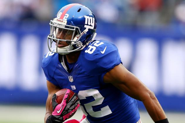 Giants' Rookie Receiver Rueben Randle Hopes to Become Spark for Offense