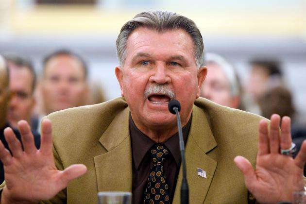 Ditka on Stroke: 'I'm Iron Mike, C'mon'