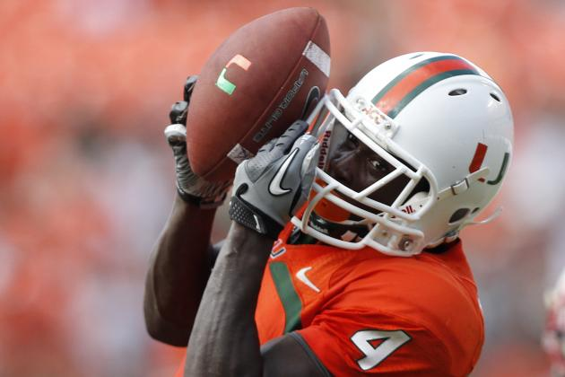 Receiving Corps Puts Miami Hurricanes in Good Hands