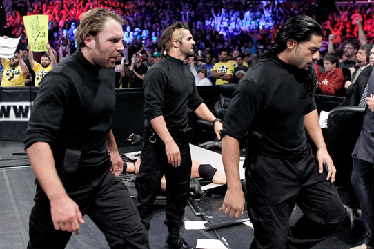 WWE Survivor Series 2012: Showcasing Dean Ambrose, Seth Rollins and Roman Reigns