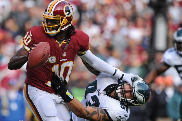 RG3 Nearly Perfect vs. Eagles