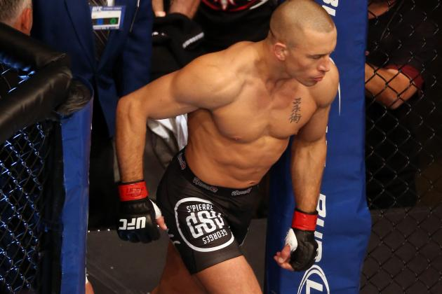 Georges St-Pierre: Fighting Anderson Silva Will Ruin Him
