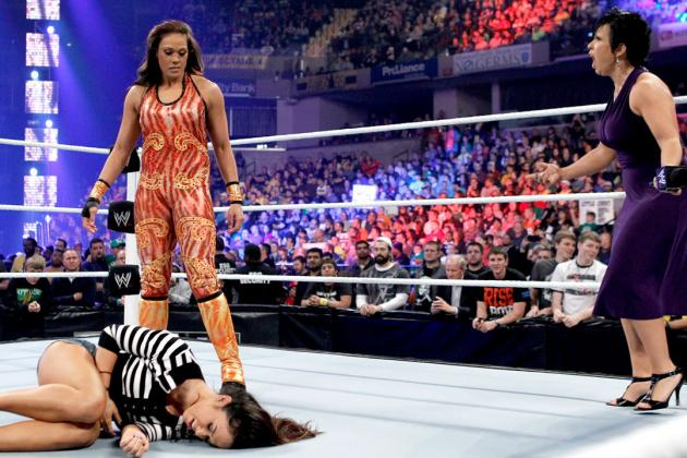 WWE Survivor Series 2012: Why Tamina's Return Is Good for the AJ-Vickie Feud