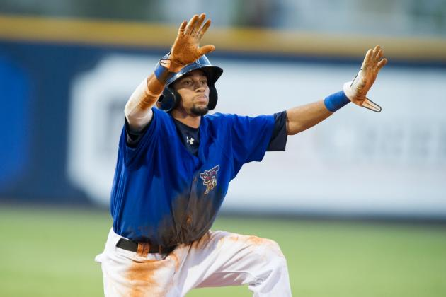 Billy Hamilton Avoids Serious Injury After Arizona Fall League Wall Crash