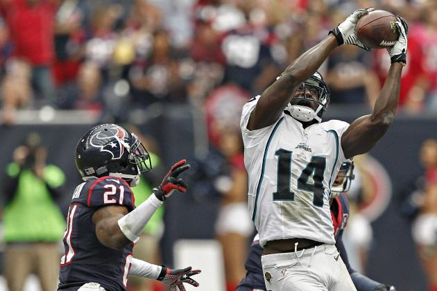 Justin Blackmon: Fantasy Expectations for Jaguars WR in Week 12